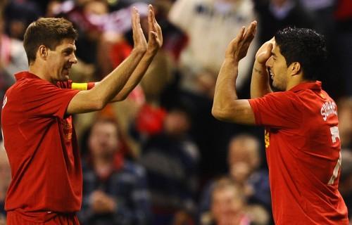 リヴァプールのスアレスとジェラード、W杯対決前に互いを称賛
