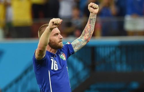 イタリアMFデ・ロッシ、ジェラードとの対戦は「感情が高ぶった」