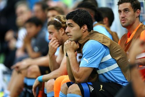 ウルグアイのスアレス、イングランド戦出場に意欲「戦える状態」
