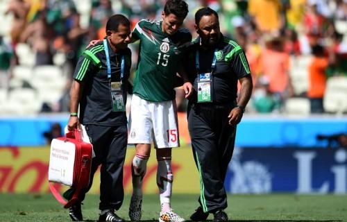 オランダに敗れたメキシコ、DFモレノが頸骨骨折…数カ月の離脱か