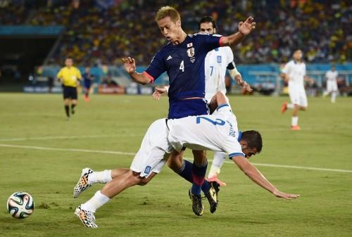 日本代表MF本田圭佑がギリシャ戦のFIFA発表MOMに選出