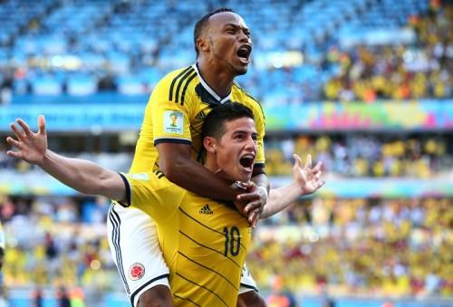 J・ロドリゲスがMOMに…コロンビアの3点目記録するなど攻撃けん引