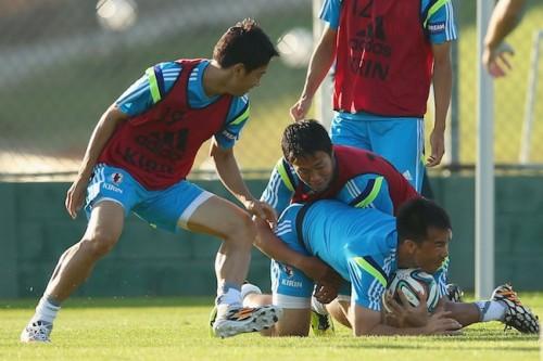 初戦まであと3日…日本代表、イトゥでの練習に23選手全員が参加