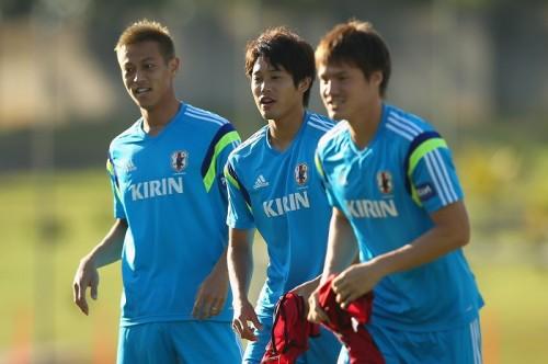 初戦まであと2日…日本代表の練習に23選手全員が参加