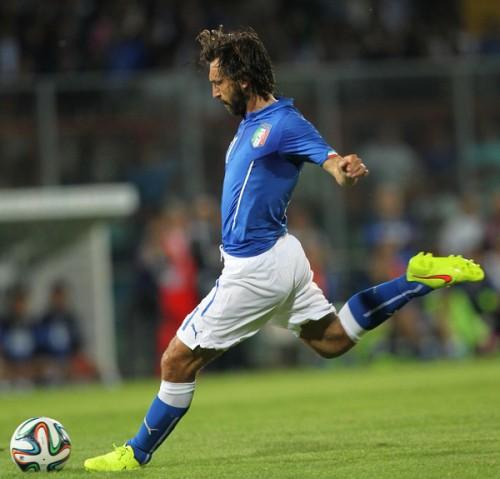 イタリア代表MFピルロがW杯に意気込み「4年前に学んだことを生かさなければ」
