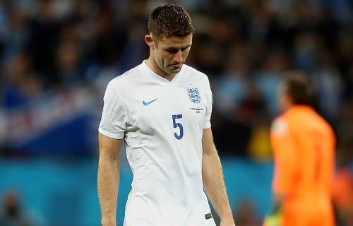 イングランド代表のDFケイヒル「フットボールは時に残酷」