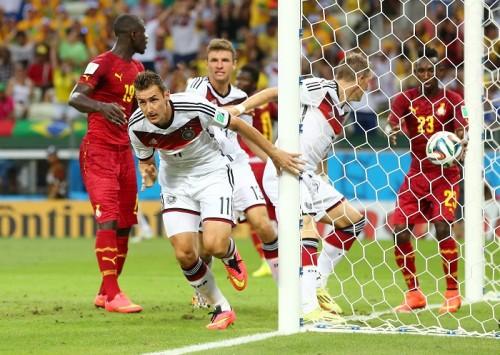ドイツとガーナ、譲らずドロー決着…クローゼがW杯最多得点タイ記録