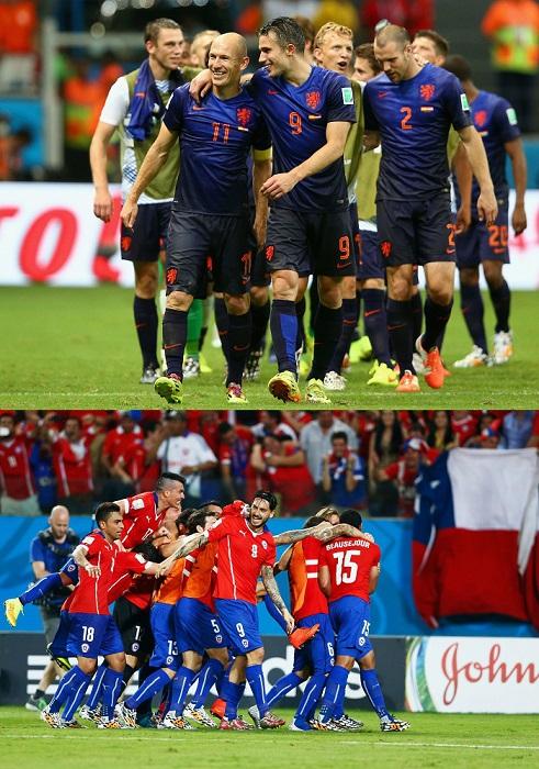 オランダとチリがW杯ベスト16一番乗り、初の敗退国は前回王者スペインと豪州