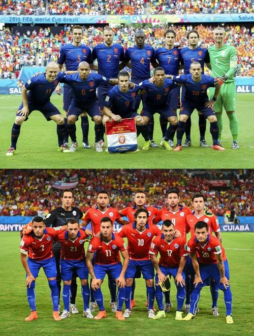 オランダ3連勝で首位通過、チリは2位…スペインとオーストラリアが脱落