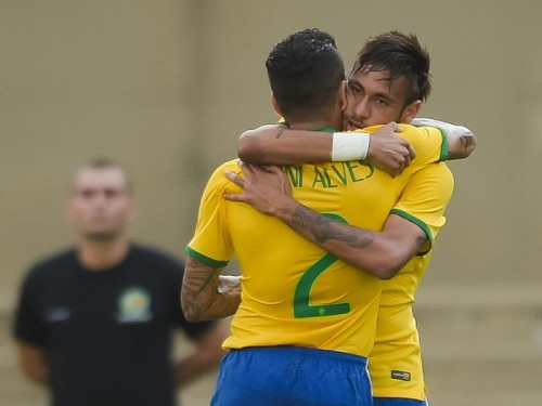 W杯優勝候補筆頭ブラジル、ネイマール先制弾など4得点でパナマに快勝