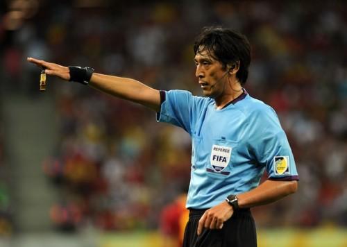 W杯開幕戦主審の西村氏に激励、JFA大仁会長「他の審判員の励みに」