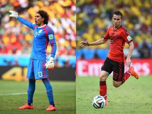 メキシコ代表のオチョアとアギラール、大会後にビッグクラブ移籍か?