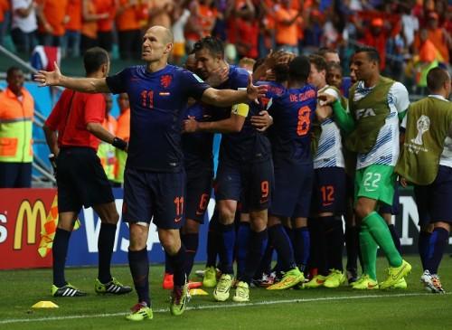 王者スペイン、連覇懸かるW杯初戦で崩壊…オランダが圧巻5発粉砕