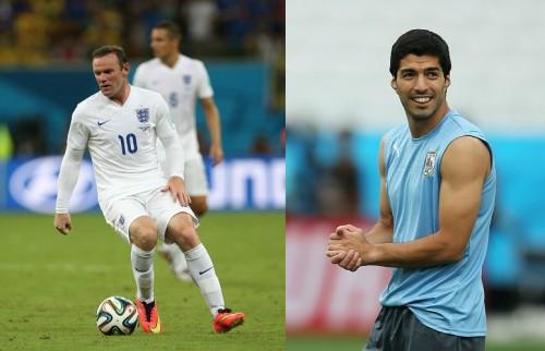 負ければ敗退濃厚…イングランドとウルグアイの決戦、注目は両エース
