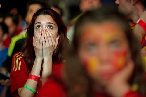 国際大会でスペイン史上3番目のワーストスコア、5失点も51年ぶり