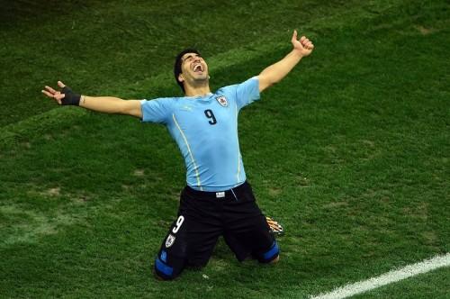 復帰のスアレス2得点、ウルグアイが勝利…ルーニー弾もイングランドは連敗