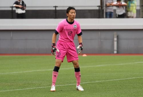 大阪桐蔭の2年GK上田大志、緊急出場も気迫のプレーで貢献
