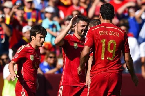 途中出場のビジャが2得点の活躍…スペインがエルサルバドルに快勝