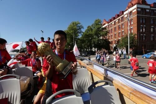 U-14 Jリーグ選抜が世界の頂点に…PK戦を制し国際ユース大会初優勝