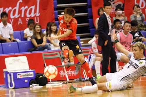 Fリーグ2014/2015……浦安開幕4連勝ならず。ホームで神戸と引き分け