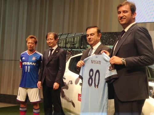 日産がシティ・フットボール・グループと業務提携…齋藤「マリノスをより大きなクラブに」