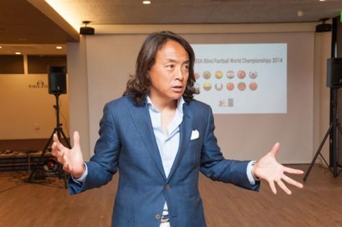 <インタビュー>元サッカー日本代表・北澤豪氏が語る「ブラインドサッカーの魅力」