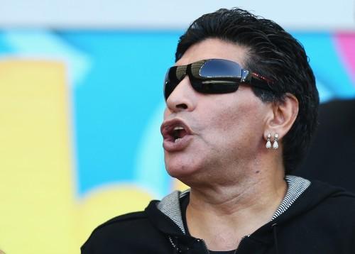 マラドーナがアルゼンチン代表に苦言「メッシとディ・マリアだけ」