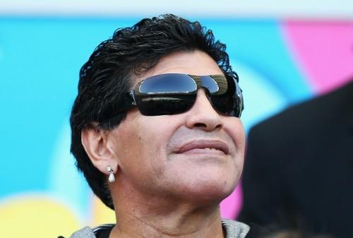 マラドーナ、W杯振り返り「アルゼンチンは世界サッカーの主人公」