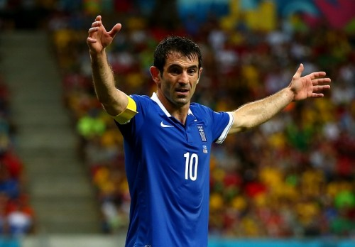 ギリシャ代表MFカラグニスが、代...