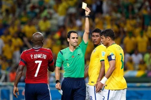 FIFA、T・シウヴァへの警告取消要求を棄却…準決勝出場停止に