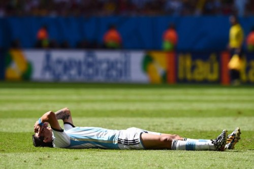 負傷交代のディ・マリア、W杯中の復帰は絶望的か…スペイン紙報道