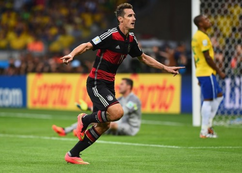 W杯新記録を達成したドイツ代表FWクローゼ「準備はできていた」