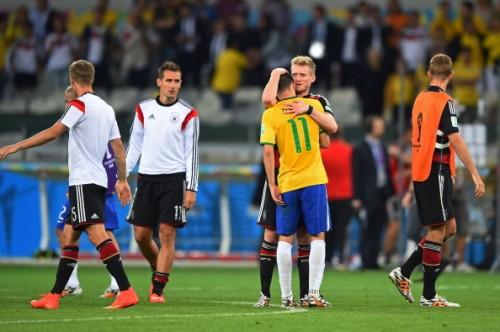 ドイツが敗者ブラジルに敬意「我々は自国開催の準決勝で負ける痛みを知っている」