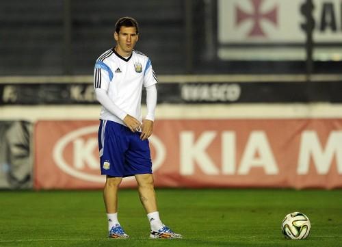 W杯決勝に臨むアルゼンチン代表メッシ「個人の記録より世界王者」