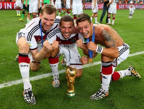 アーセナルのW杯優勝ドイツ代表トリオがプレミア開幕戦を欠場か
