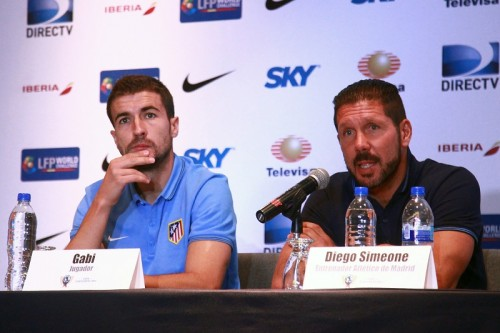 アトレティコ主将のMFガビ、来季リーガを見据え「2連覇は難しい」
