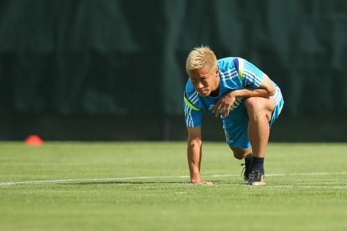本田圭佑「課題は3つ」…公式サイトで新シーズンへの決意表明