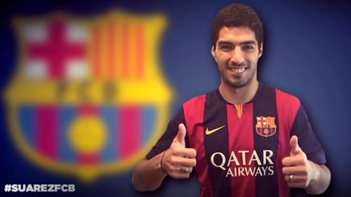 バルセロナがリヴァプールからスアレスの獲得を発表…5年契約