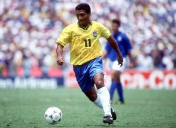 1994 World Cup Final. Pasadena, USA. 17th July, 1994. Brazil 0 v Italy 0. (Brazil won 3-2 on penalties) Brazil's Romario