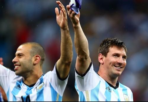 メッシとマスチェラーノ、対照的な2つの才能が導いたアルゼンチン代表の決勝進出