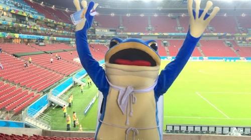 【特別テレパシー対談】愛媛FC非公認マスコットの一平くん×ちょんまげ隊の隊長ツンさんinブラジル