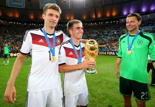 W杯優勝を喜ぶドイツ代表主将ラーム「信じられない気分だよ」
