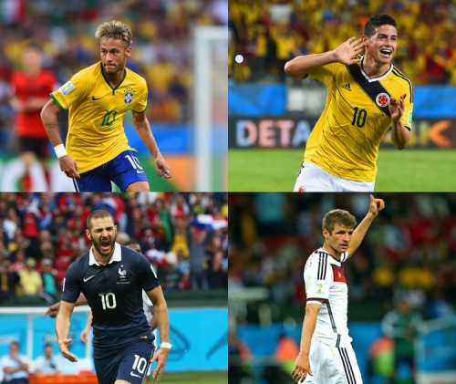 開催国ブラジル、優勝に向けて正念場…欧州対決では両エースの活躍に注目