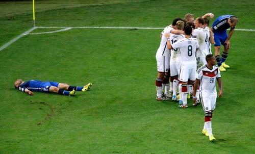 決勝で敗れ試合後、涙を見せたマスチェラーノ「つらい結果」