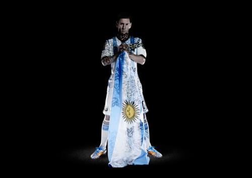 W杯優勝を誓うアルゼンチン代表のメッシ「夢を叶えるために全てを尽くす」