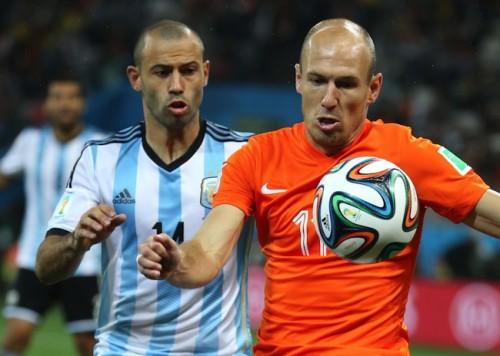 W杯準決勝敗退のロッベン「アルゼンチンはドイツに勝てない」