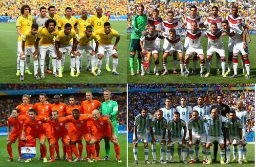 <投票>準決勝進出4チームが決定…ブラジルW杯杯を制するのは?