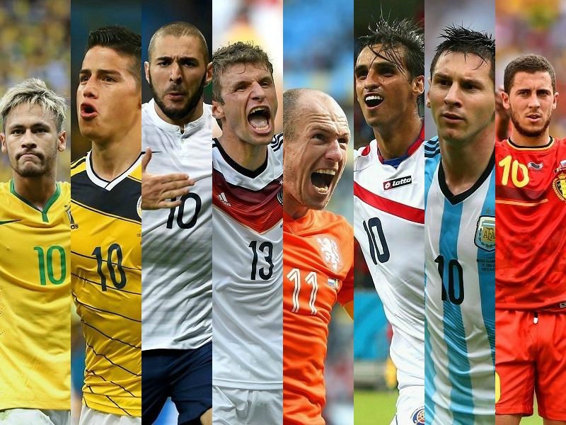 W杯8強出揃う…各GLの1位が突破、南米3・北中米1・欧州4カ国   サッカー ...