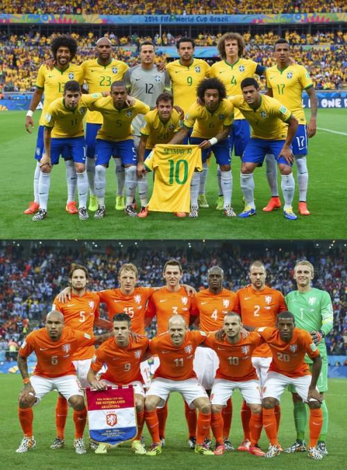 3位決定戦でブラジルとオランダが対戦…失意の王国は意地を見せられるか