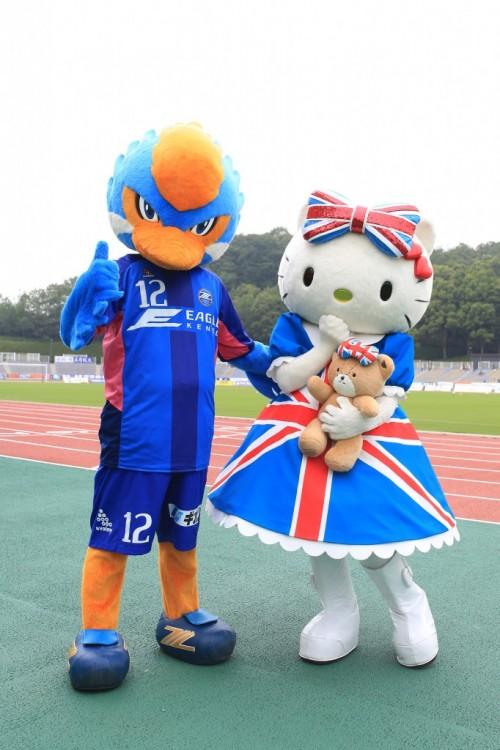 町田が創立25周年記念マッチ開催を発表…俳優の谷原章介さん、キティちゃんが来場